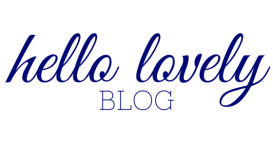 hello lovely blog header